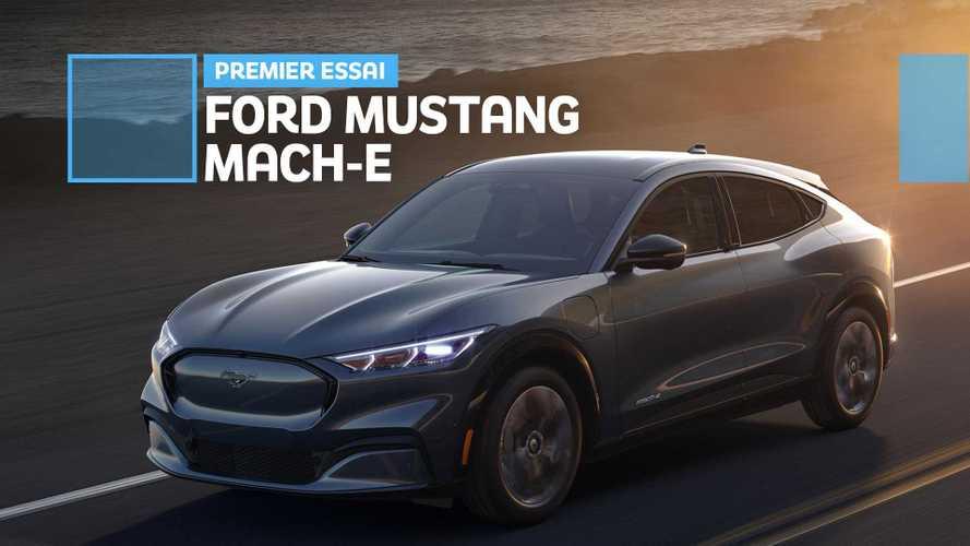 Ford Mustang Mach-E - Premières impressions à bord !