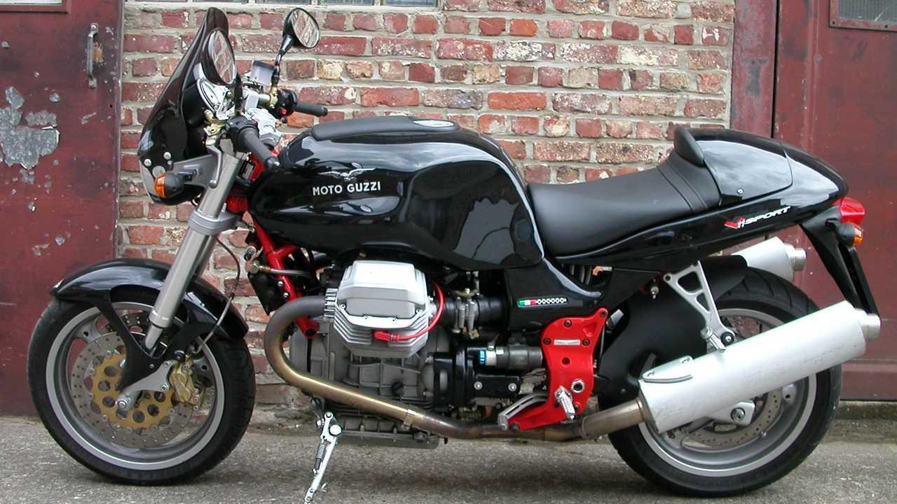A Moto Guzzi V11 Sport