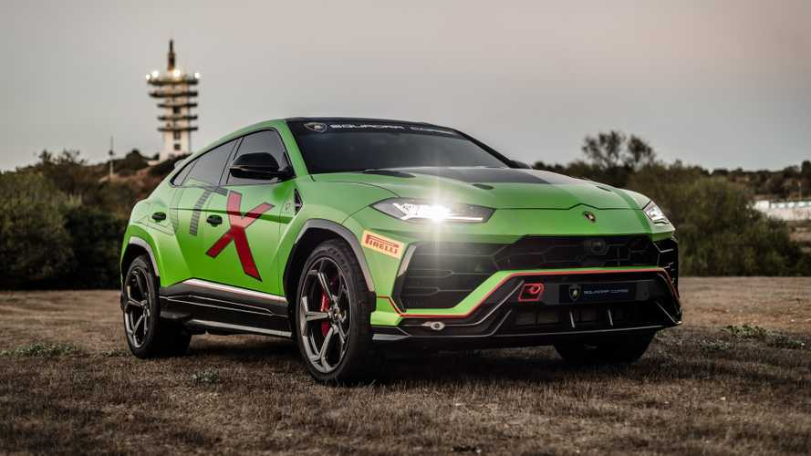 Lamborghini Urus ST-X back in new images ahead of 2020 racing debut