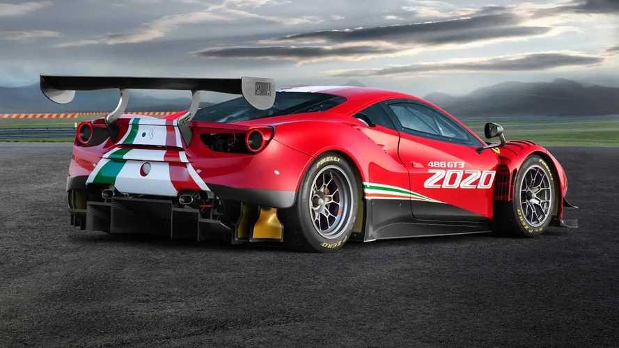 Ferrari 488 GT3 Evo 2020, mejor aerodinámica y mayor batalla