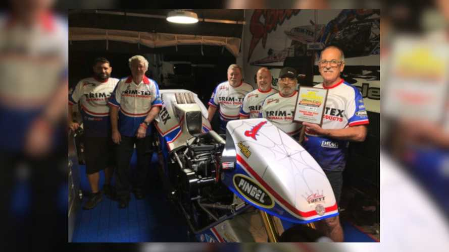 Top Fuel Motorcycle Legend Sets New World Records