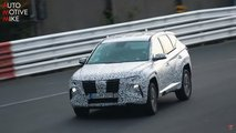 hyundai tucson spied getting away