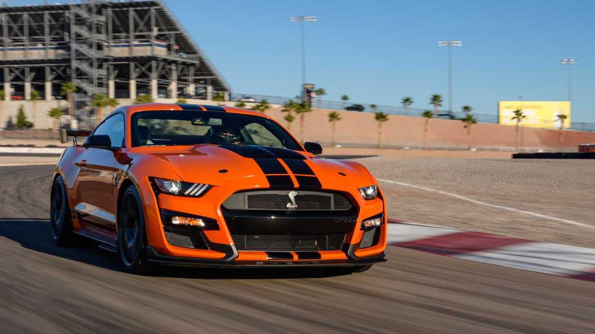 Mustang gt 500 2020