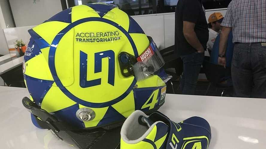 "Rossi se enorgullece de tener como fans a ""importantes pilotos"" de F1"