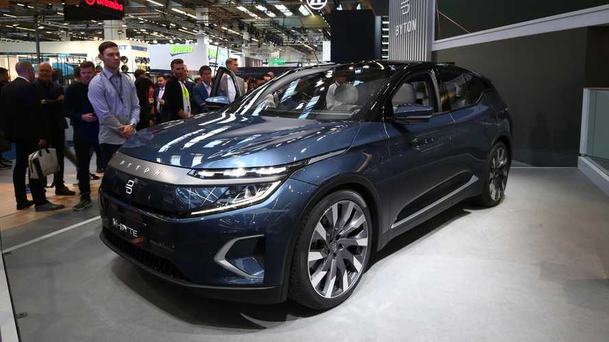 BYTON M-Byte at the 2019 Frankfurt Motor Show