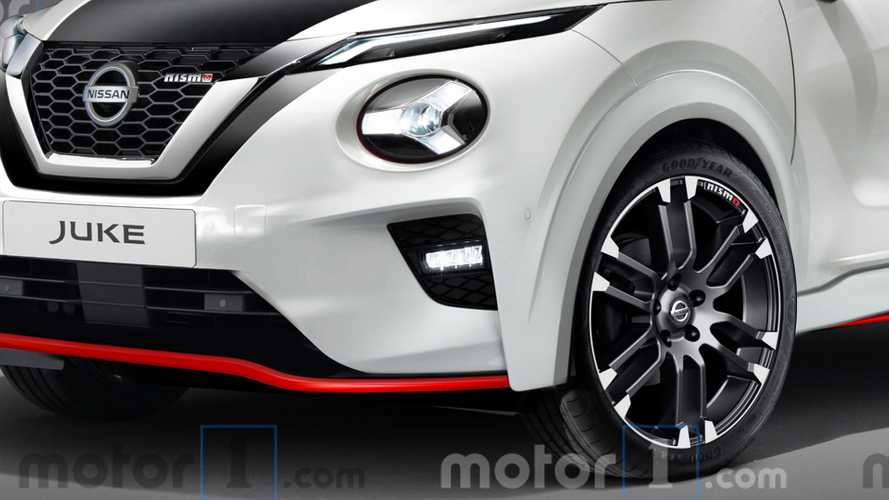 Nuova Nissan Juke Nismo, il rendering
