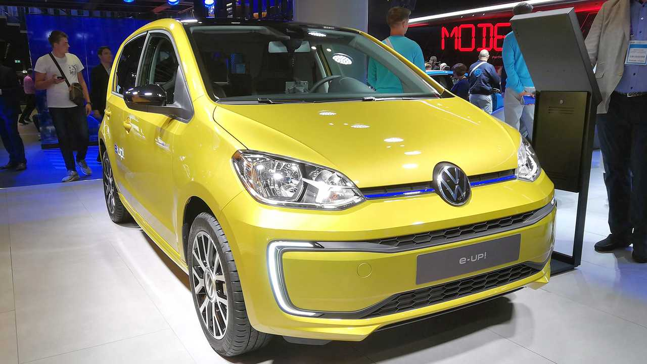 IAA 2019 - Elektroautos: VW e-Up