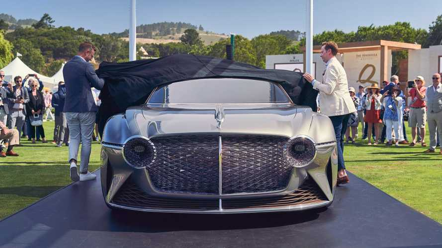 Quick look at the Bentley EXP 100 GT at Monterey Car Week