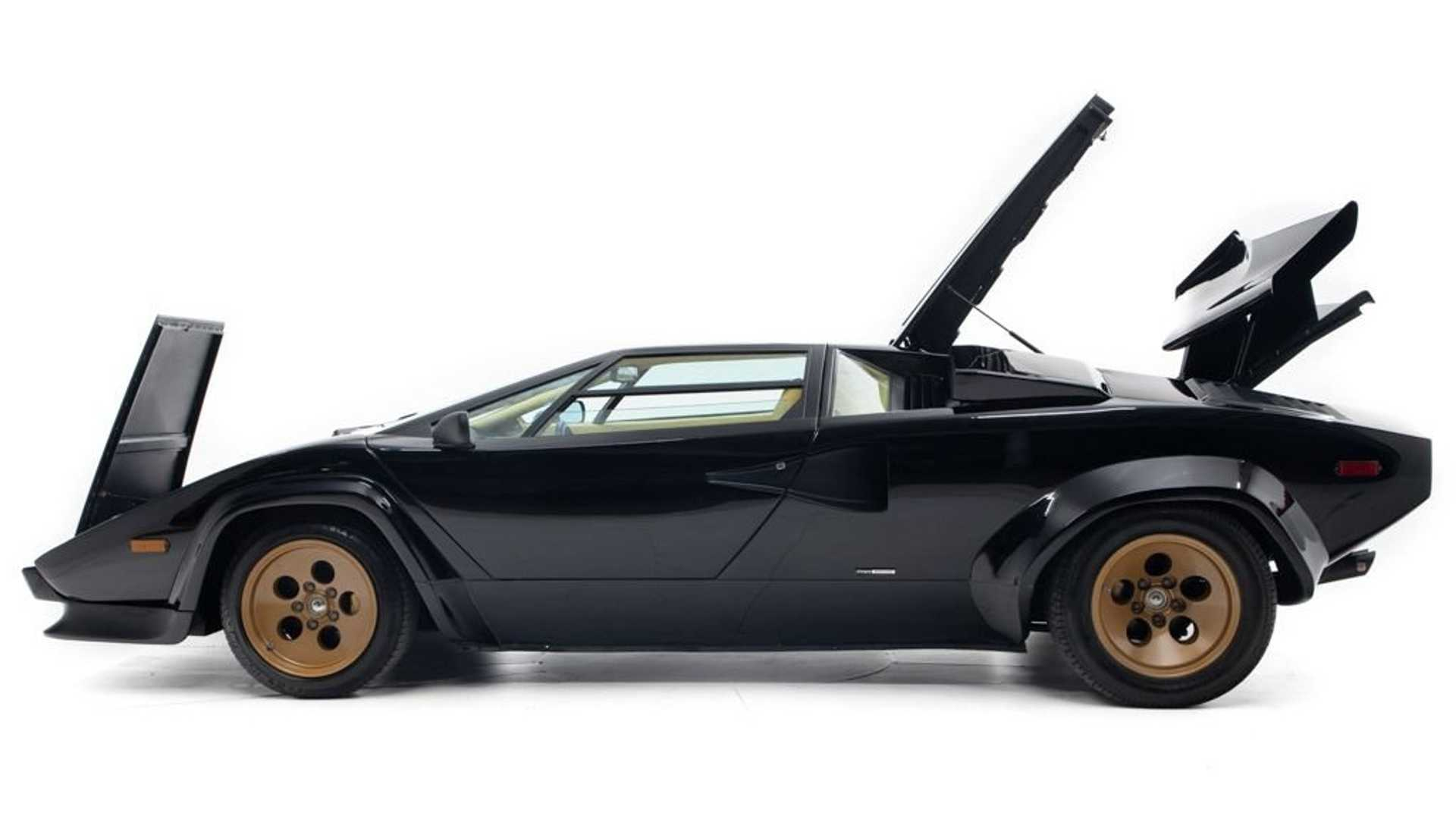"[""At $349K, Could This Black-And-Tan Euro-Spec Countach Be Perfect?""]"