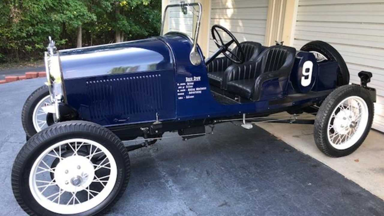 Show-Ready 1929 Ford Model A Speedster Will Be Auctioned