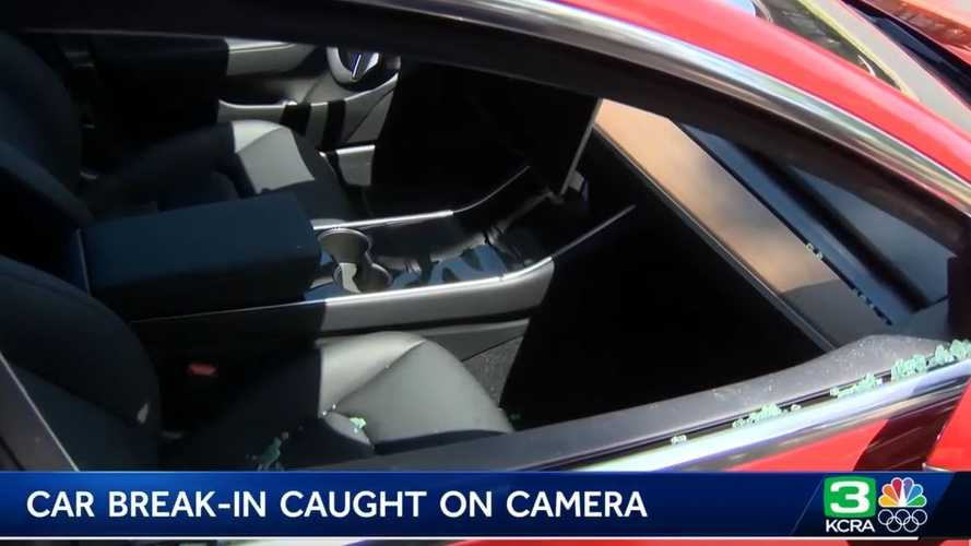 Police Identify Tesla Model 3 Thief Quickly, Credit Sentry Mode