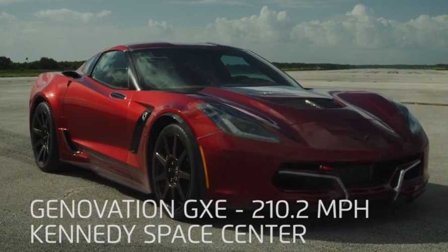 Watch Genovation GXE Electric Corvette Set New World Speed Record