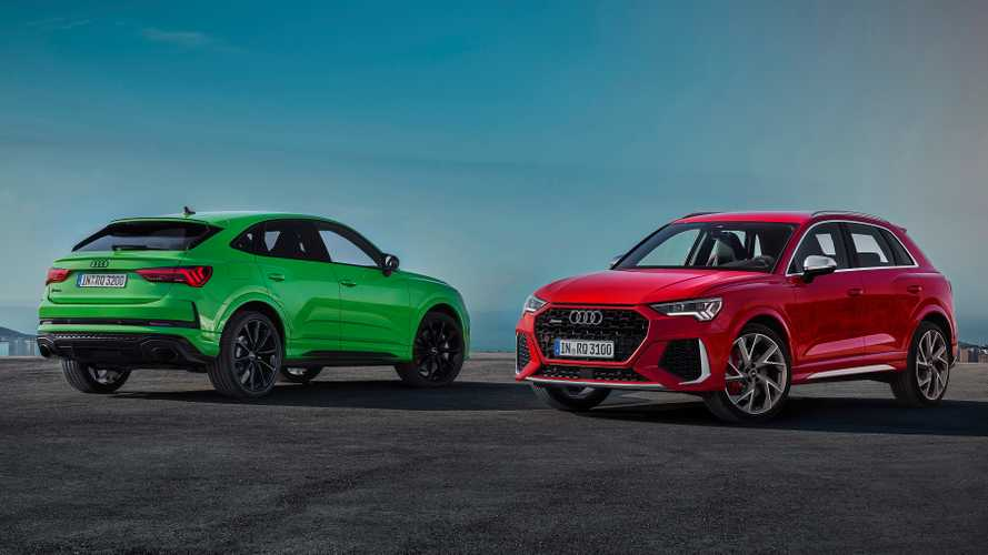 Audi RS Q3 SUV and Sportback show it all in official videos