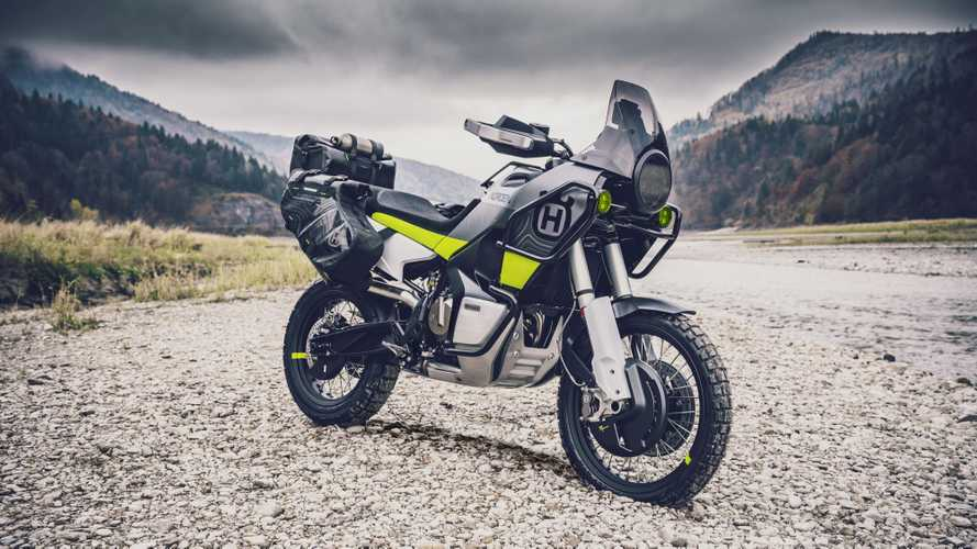 Husqvarna's Norden Concept Is A Vision In Green And Gray
