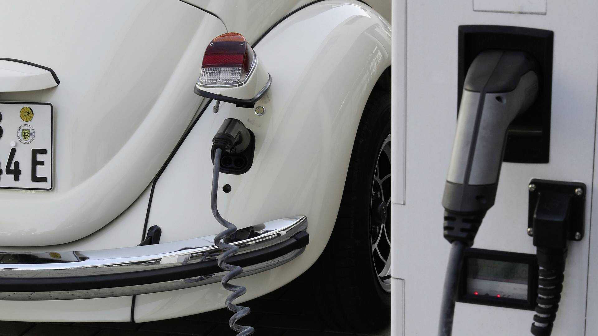 Original Beetle gets a proper boot thanks to VW e-Up! battery