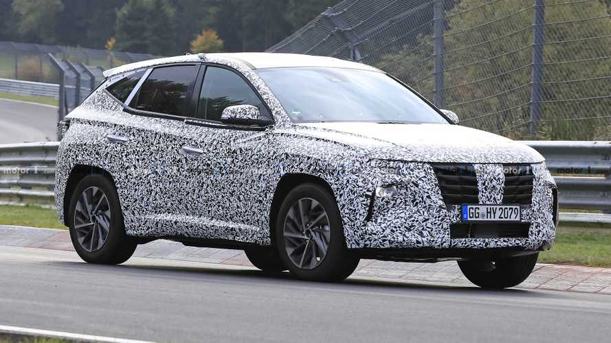 2021 Hyundai Tucson Spied Looking Agile At Nurburgring
