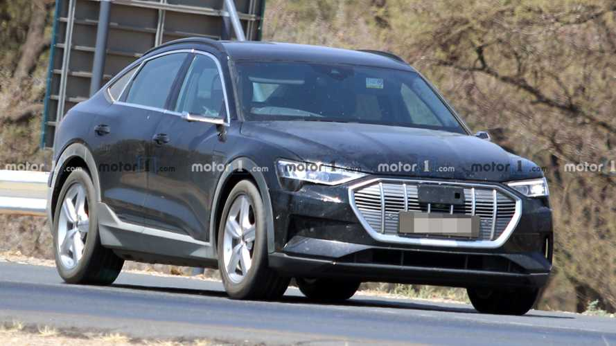2021 Audi E-Tron Sportback spy photos