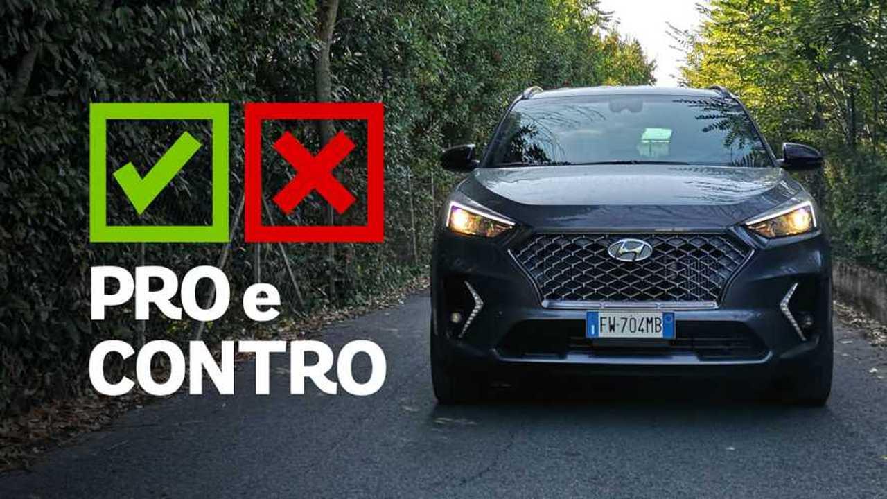 Hyundai Tucson 1.6 CRDi XPrime, pro e contro