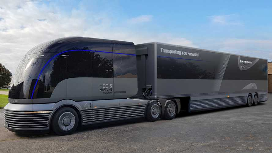 Hyundai reveals hydrogen-powered HGV concept