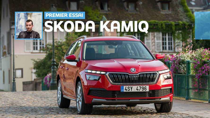 Essai Škoda Kamiq (2019) - Neutralité assumée