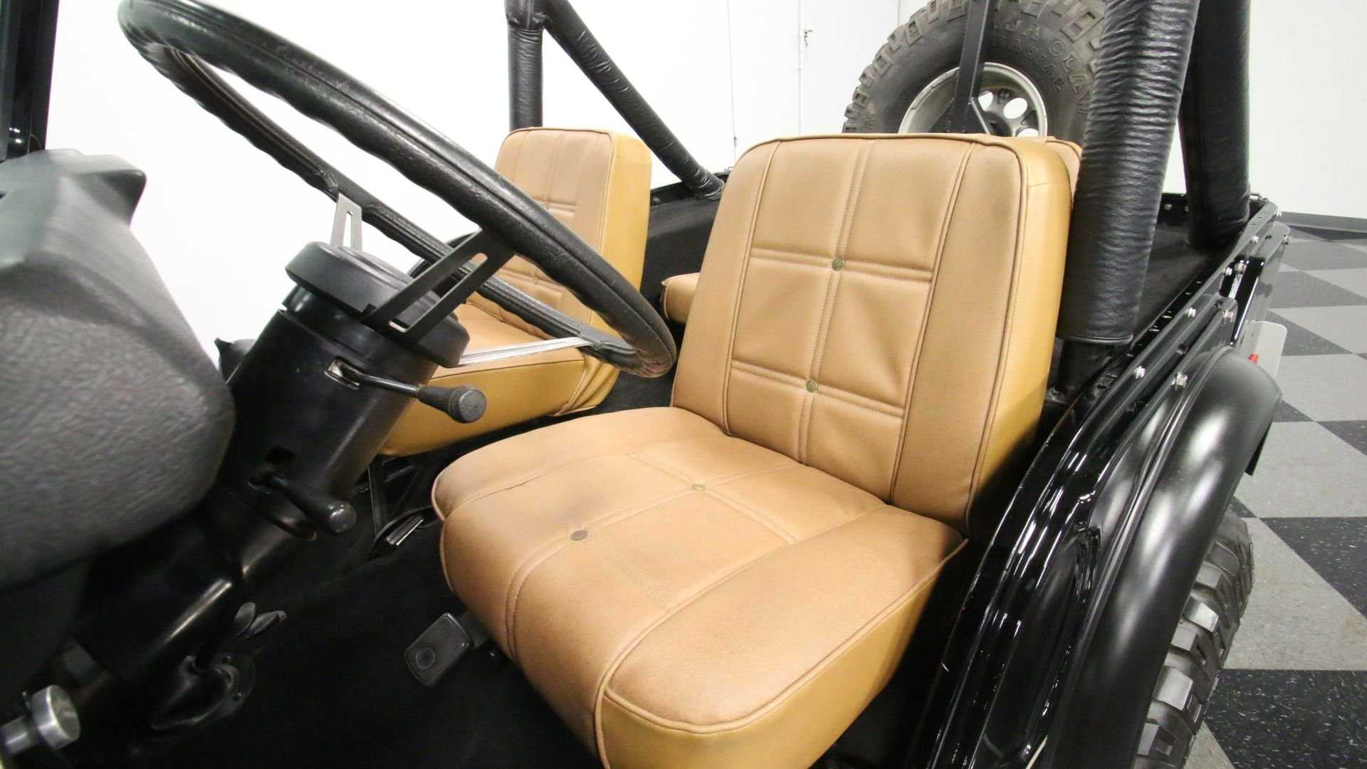 """[""""Soar High In This 1976 Jeep CJ-5 Golden Eagle Tribute""""]"""