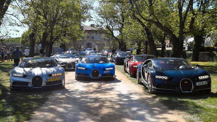 Bugatti, un tour europeo per festeggiare i 110 anni