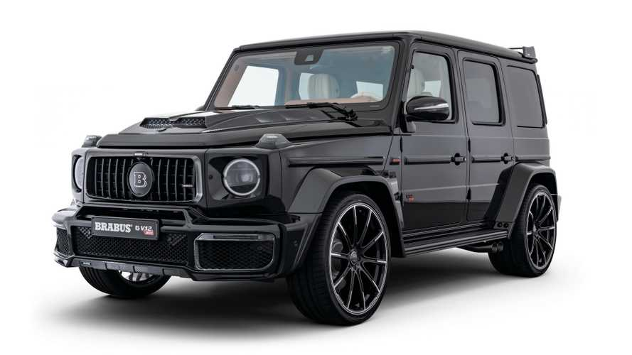 Mercedes-AMG G-Class with V12 engine from Brabus