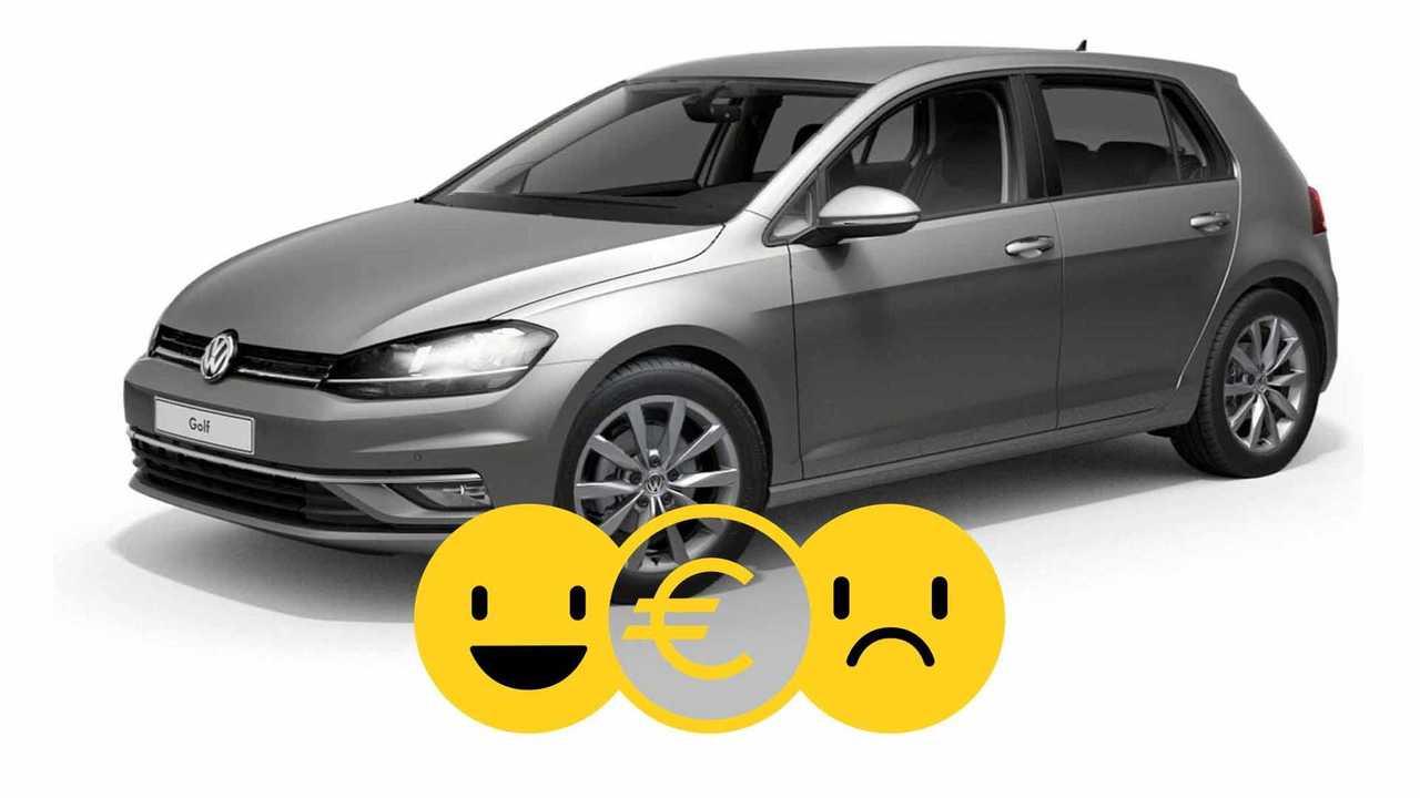 Volkswagen Golf Match à 300€/mois