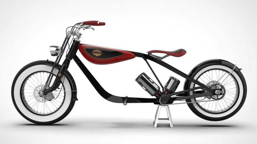 Design Firm Creates An E-Bike For Cool Dads
