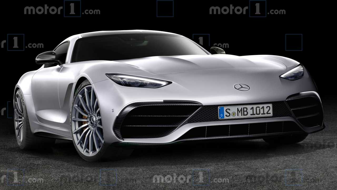 2021 Mercedes-AMG GT Coupe render