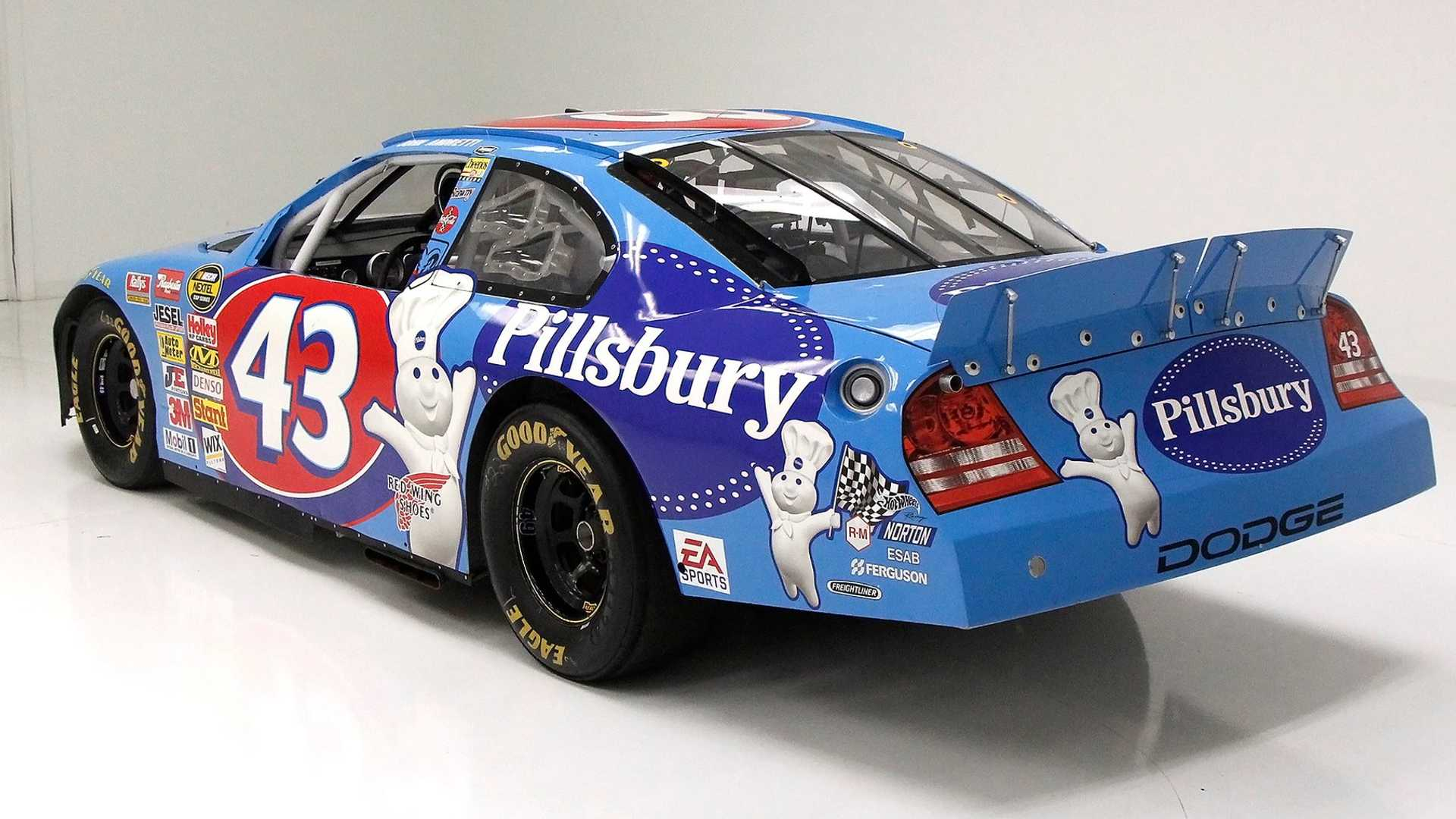 """[""""Drive Like The King In This 2002 Dodge Intrepid NASCAR Cup Car""""]"""