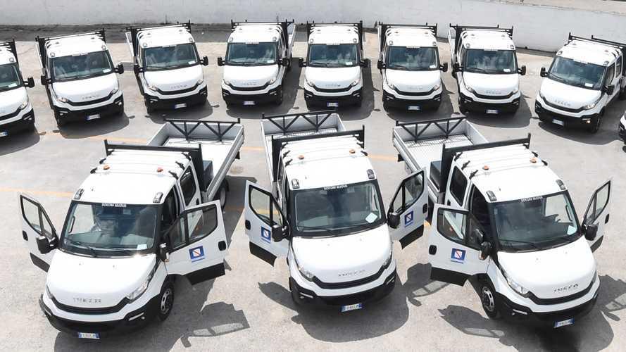 Iveco consegna 40 veicoli alla Regione Campania