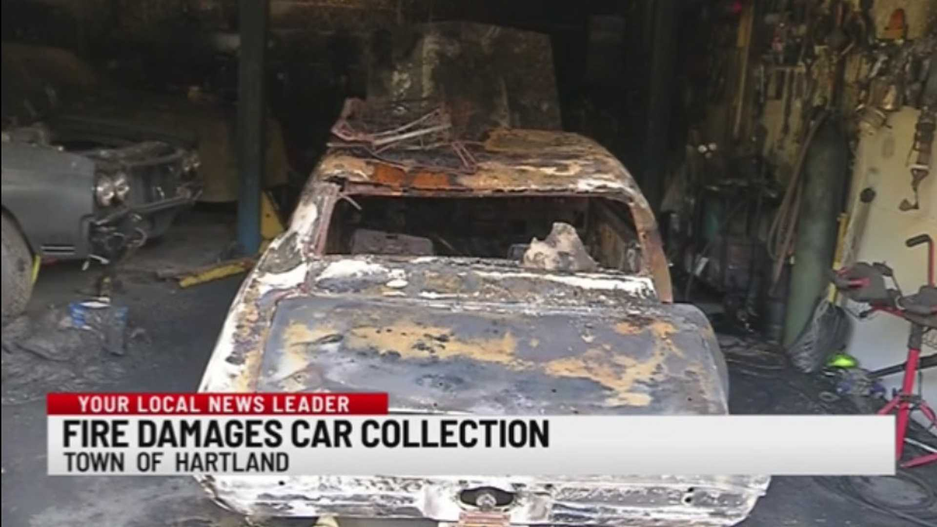 """[""""Fire Destroys Classic Car, Scooter Collection In NY""""]"""