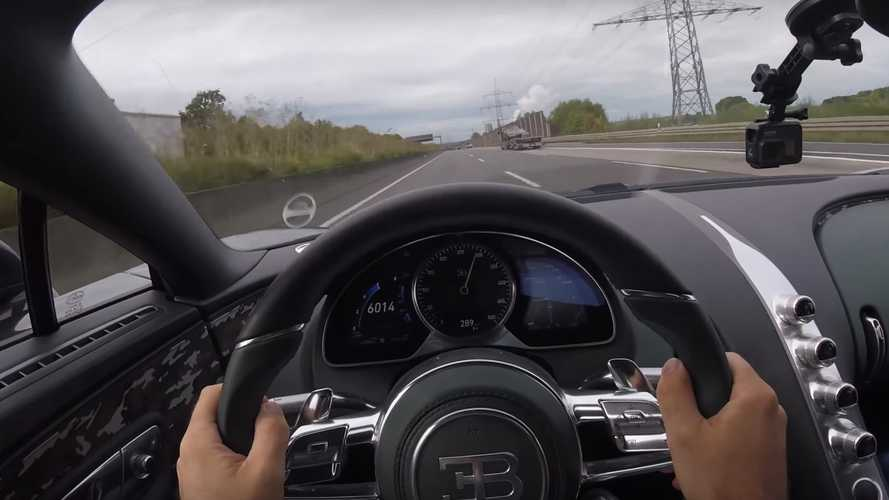 Bugatti Chiron was born to devour miles on the Autobahn