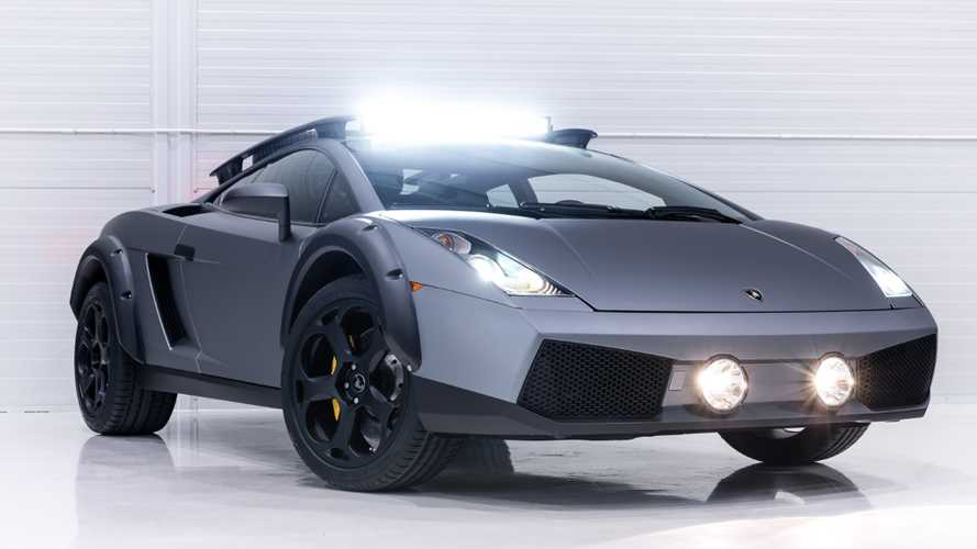 Sinister off-road Lamborghini Gallardo is real, and it's for sale