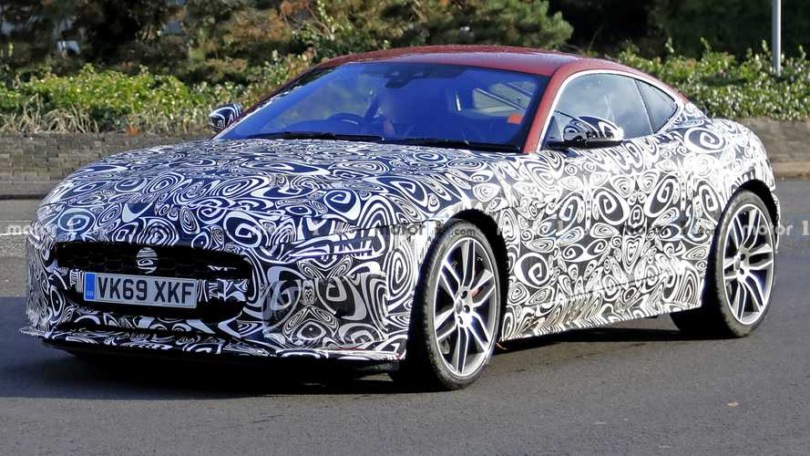 2021 Jaguar F-Type Coupe And Convertible Spied Looking Smooth