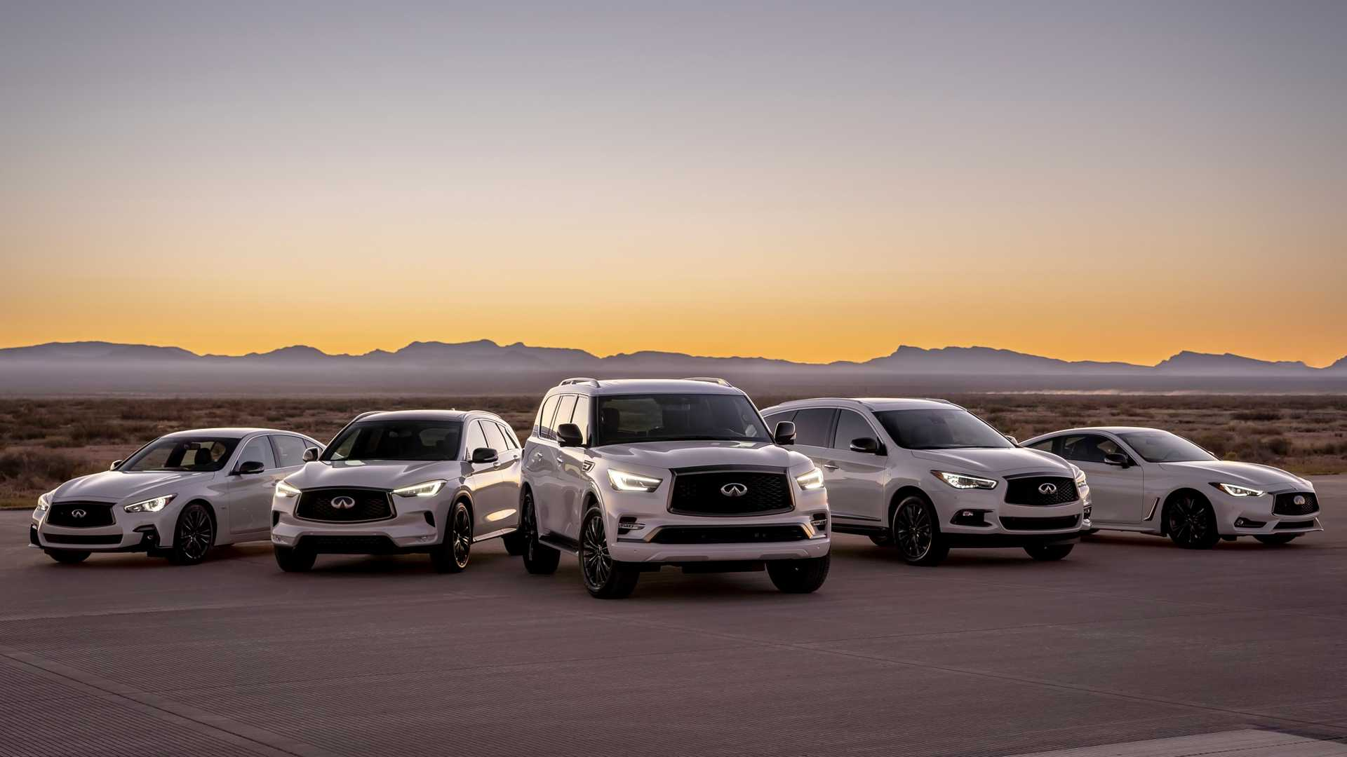Infiniti Prices Edition 30 Models That Mark Brand's 30th Anniversary