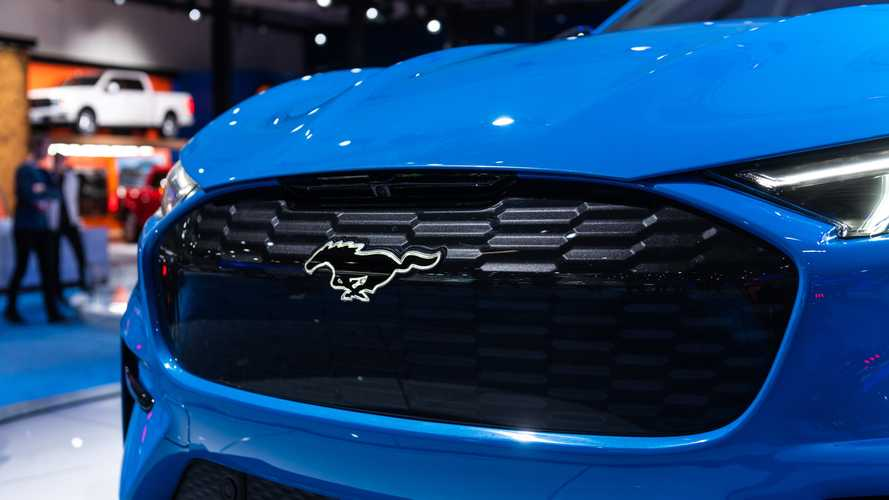 Ford Mustang Mach-E GT Will Be Only Variant With Light-Up  Badge