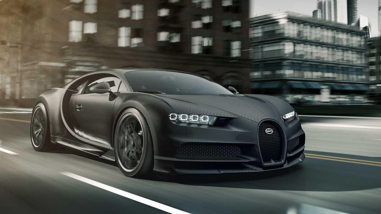 Bugatti Chiron Noire Sportive y Noire Elegance 2020
