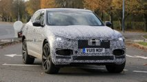 Jaguar F-Pace new spy images