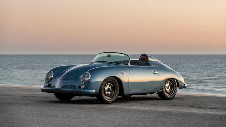 1959 Porsche 356 Speedster Aquamarine Transitional By Emory Motorsport