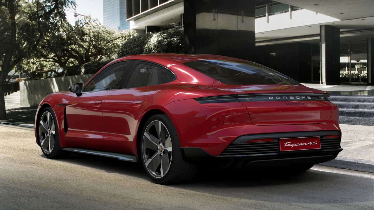 2020 Porsche Taycan 4S Most Expensive