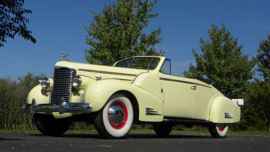For Under $290K, Steal The Show In This  Rare 1938 Caddy Series 90 'Vert
