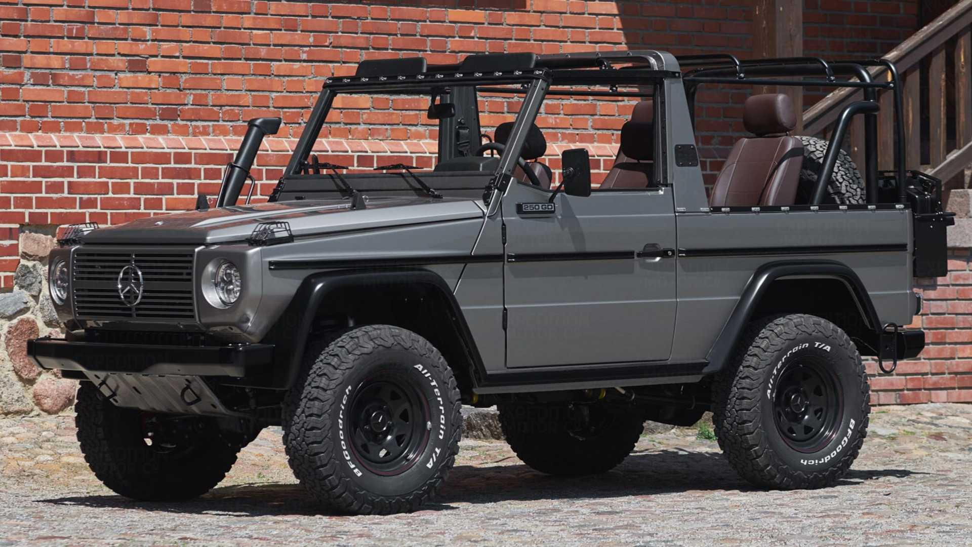 Fully Restored Military-Spec G Is The Ideal Off-Roader (197 Photos)