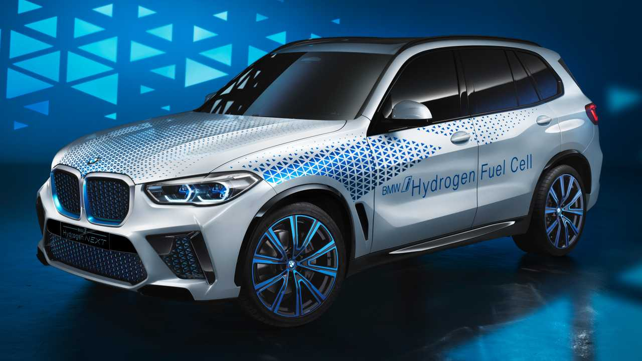 hydrogen bmw fuel cell production x5 concept