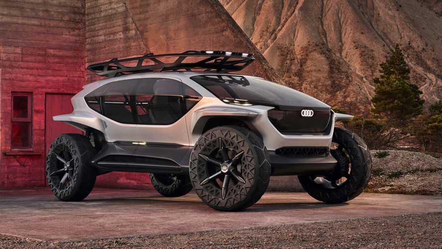 Audi AI:Trail Quattro Concept Previews Future Electric Off-Roader