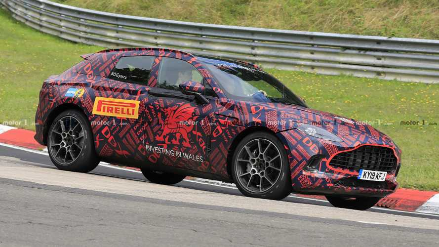Aston Martin DBX Returns In New Spy Photos From Nurburgring
