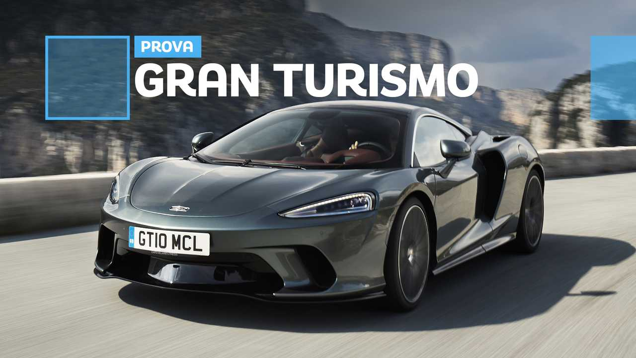McLaren GT, la prova su strada