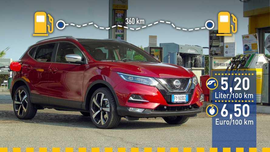 Nissan Qashqai (2019) im Verbrauchstest