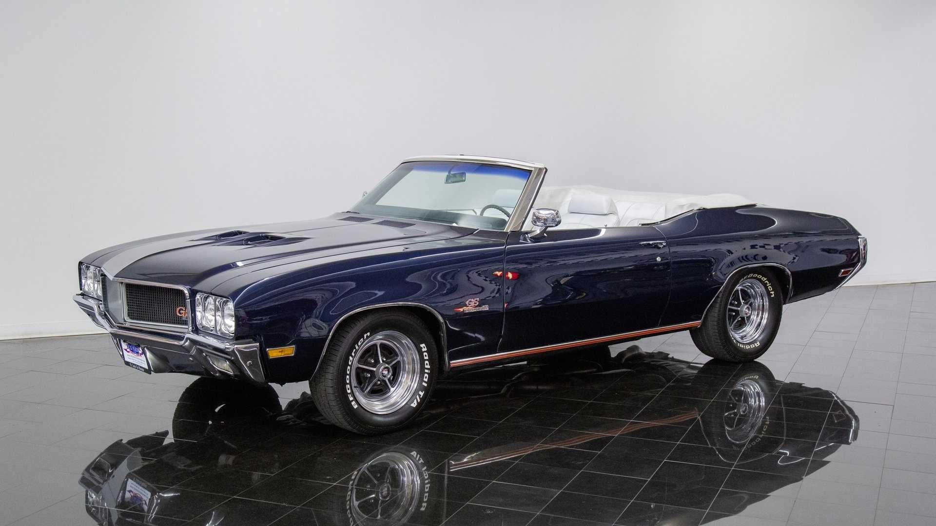 """[""""Drop The Top In This Gleaming 1970 Buick GS455""""]"""